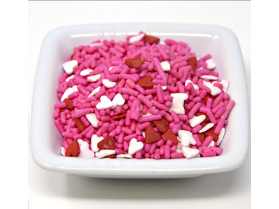 Heart Shape Sprinkle Mix 6lb
