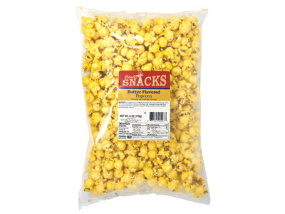 Buttered Flavored Popcorn 12/6oz