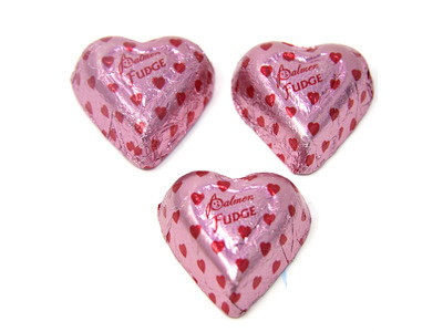 Fudge Hearts 24lb