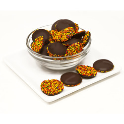 Dark Chocolate Fall Nonpareils 20lb