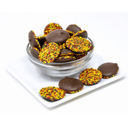 Milk Chocolate Fall Nonpareils 20lb