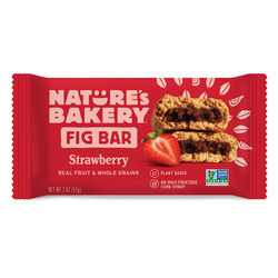 Strawberry Whole Wheat Fig Bars 12ct