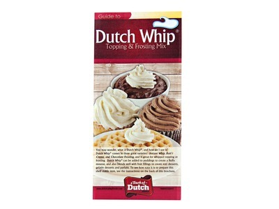 Dutch Whip® Topping & Frosting Mix Brochure 25ct