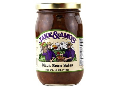 J&A Black Bean Salsa 12/16oz