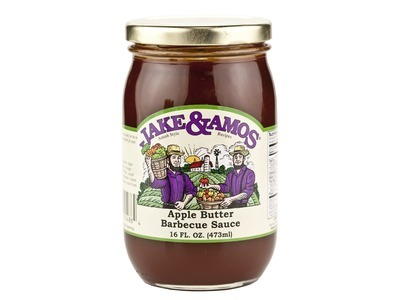 J&A Apple Butter Barbecue Sauce 12/16oz