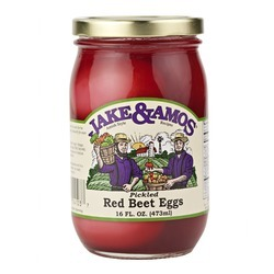 J&A Pickled Red Beet Eggs 12/16oz