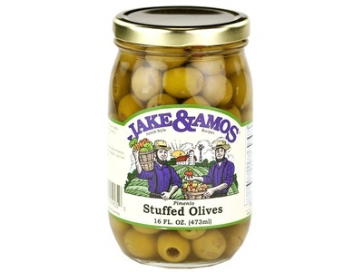 J&A Pimento Stuffed Olives 12/16oz