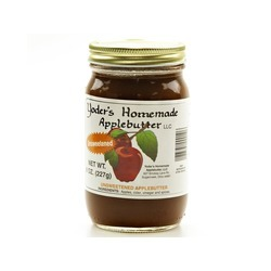 Yoder's Homemade Apple Butter (No Sugar Added) 12/8oz