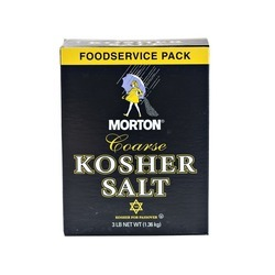 Coarse Kosher Salt 12/3lb