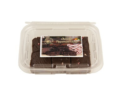 Chocolate Peppermint Fudge 8/12oz