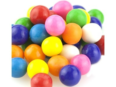 Mini Assorted Gum Balls 21.8lb