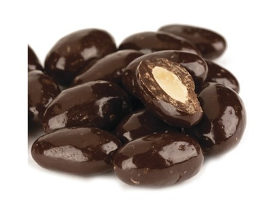 Dark Chocolate Almonds 15lb