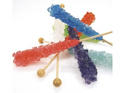 Assorted Rock Candy On A Stick 120ct