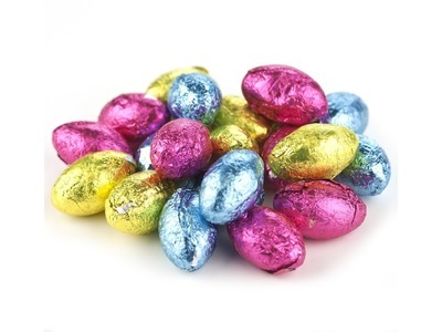 Milk Chocolate Flavored Eggs 30lb