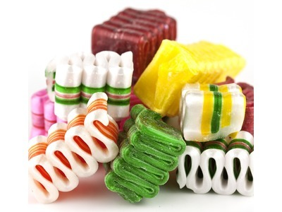 Old Fashioned Mini Ribbon Candy 30lb