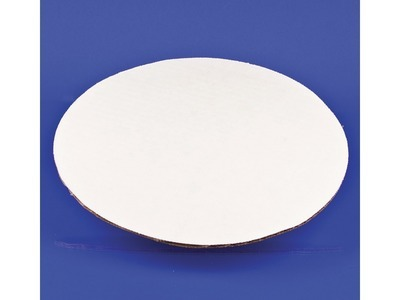 "10"" Untreated White Corrugated Circle 250ct"