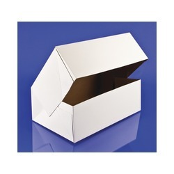 Automatic White Donut Box 10x6.25x3.5 200ct