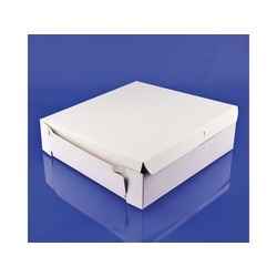 10x10x2.5 White Bakery Box Lock Corner 250ct
