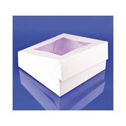 9x9x2.5 Plain Window Box 200ct