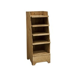 Mini Wooden Display Rack 47Hx17.5Wx17.5D 1ea