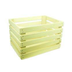 "Bushel Wood Crate, 18""x14""x12"" 1ea"