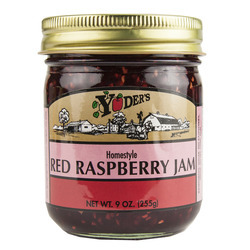 Homestyle Red Raspberry Jam 12/9oz
