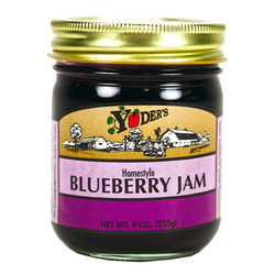 Homestyle Blueberry Jam 12/9oz