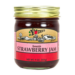 Homestyle Strawberry Jam 12/9oz
