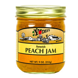 Homestyle Peach Jam 12/9oz