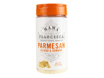 Parmesan, Asiago & Romano Cheese, Shaker 12/8oz