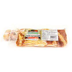 John F. Martin Applewood Thick Cut Bacon 1.25lb