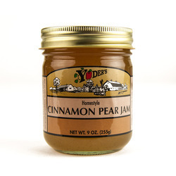 Cinnamon Pear Jam 12/9oz
