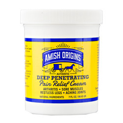 Amish Origins® Deep Penetrating Pain Relief Cream 12/7oz