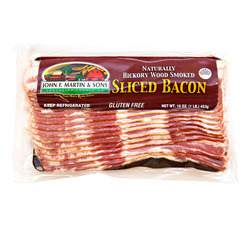 John F Martin Sliced Bacon 12/1lb