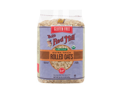 Gluten Free Organic Extra Thick Rolled Oats 4/32oz