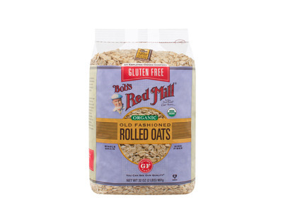 Gluten Free Organic Old Fashioned Rolled Oats 4/32oz