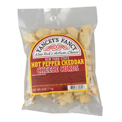 Cheddar Cheese Curds, Hot Pepper 12/6oz